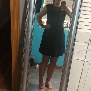 Large black dress